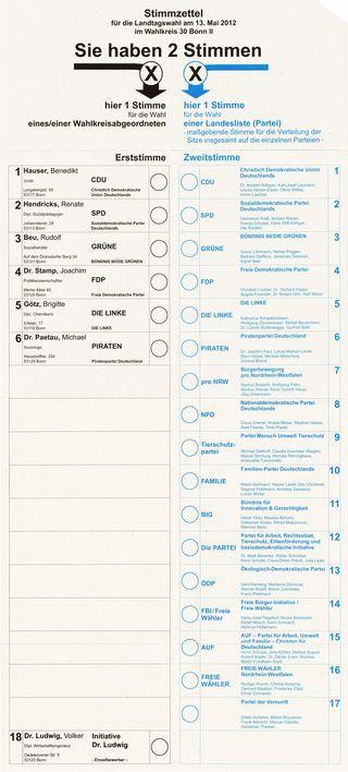 Stimmzettel_Landtagswahl_NRW_13._Mai_2012,_Wahlkreis_30_Bonn_II