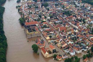 Hochwasser-Sachsen-Grimma